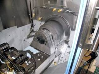 Marógép Chiron FZ 12K-S 5 AX high speed, Gyárt. é.  2010-3