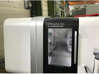 Esztergagép DMG CTX alpha 300 V3-3