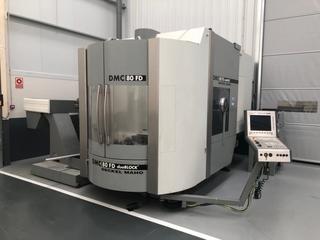 Marógép DMG DMC 80 FD doublock, Gyárt. é.  2005-3