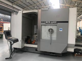 Marógép DMG DMC 80 FD doublock, Gyárt. é.  2005-6
