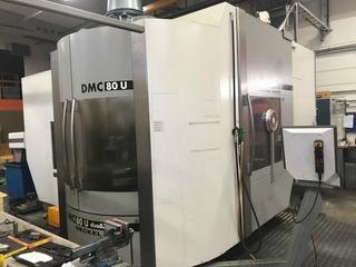 Marógép DMG DMC 80 U duoBlock, Gyárt. é.  2007-5