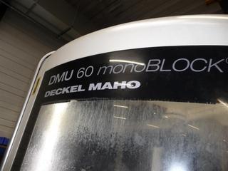 Marógép DMG DMU 60 monoBLOCK, Gyárt. é.  2010-1