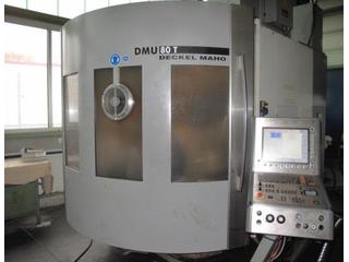 Marógép DMG DMU 80 T Turbinenschaufeln/fanblades, Gyárt. é.  2005-0