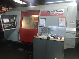 Esztergagép Emco Hyperturn 665 MC-0