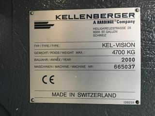 Köszörűgép Kellenberger Kel-vision URS 125 x 430 generalüberholt-5