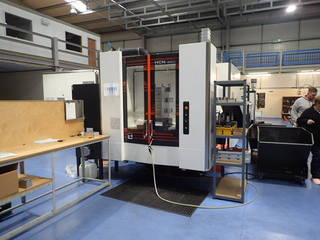 Marógép Mazak HCN 4000, Gyárt. é.  2017-1