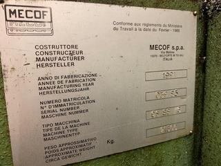 Mekof CS 88 G Bed marógép-13