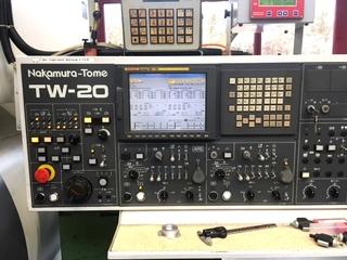 Esztergagép Nakamura TW 20 MMYY portal/gentry-2