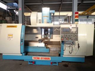 Marógép YCM Supermax V 168 A, Gyárt. é.  1998-3