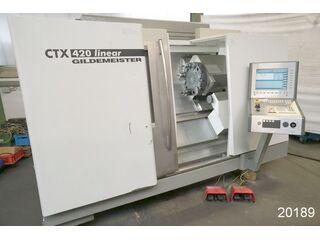 Esztergagép DMG CTX 420 linear-1