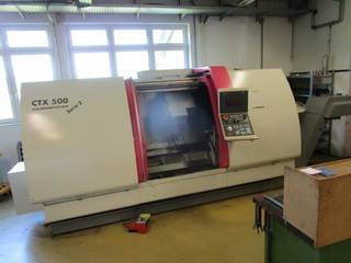 Esztergagép DMG CTX 500 Serie 2 V1-0