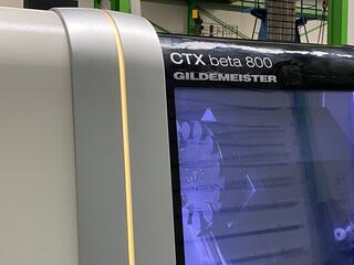 Esztergagép DMG CTX Beta 800-3
