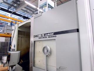 Marógép DMG DMC 80 FD duoBlock, Gyárt. é.  2006-0