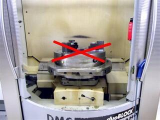 Marógép DMG DMC 80 FD duoBlock, Gyárt. é.  2006-2