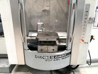 Marógép DMG DMC 80 H doubock-8