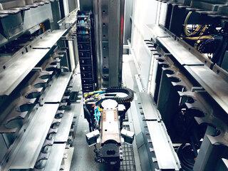 Marógép DMG DMC 80 U doublock  240 Wz., Gyárt. é.  2006-11