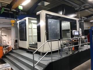 Marógép DMG DMU 210 P, Gyárt. é.  2016-0