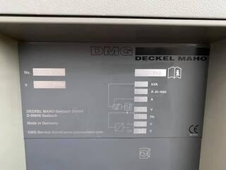 Marógép DMG DMU 50 (3+2), Gyárt. é.  2004-5