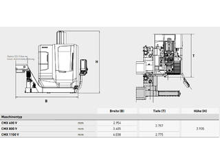 Marógép DMG Mori CMX 600 V-13