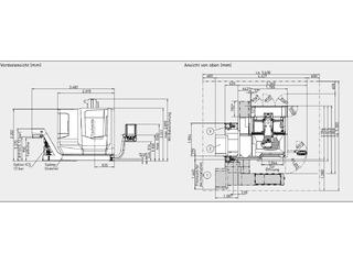 Marógép DMG Mori CMX 70 U , Gyárt. é.  2017-10