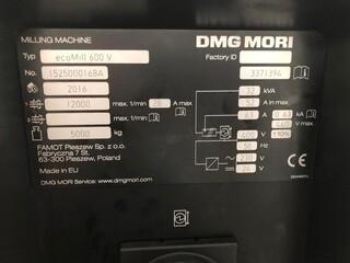 Marógép DMG Mori ecoMill 600V, Gyárt. é.  2016-3