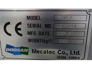 Esztergagép Doosan S 550 LM-9