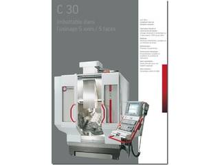 Marógép Hermle C 30 U + Roboter Erowa-0