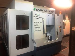 Marógép Matsuura MAM 72 25V-1