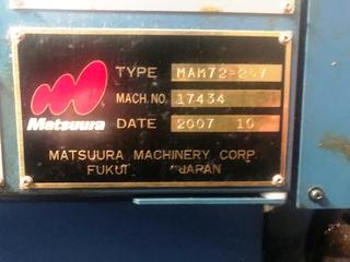 Marógép Matsuura MAM 72 25V-4