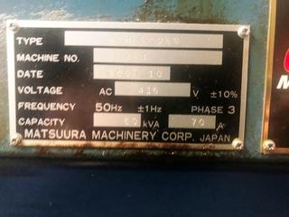 Marógép Matsuura MAM 72 25V-5