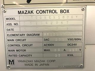 Esztergagép Mazak Integrex 100 SY-II-7