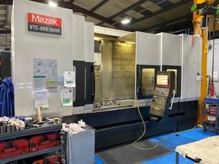 Marógép Mazak VTC 800 / 30 SR, Gyárt. é.  2008-0