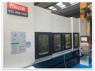 Marógép Mazak VTC 800 / 30 SR, Gyárt. é.  2008-3