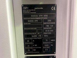 Marógép Mikron HPM 800 U-13