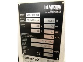 Marógép Mikron UCP 710, Gyárt. é.  2000-11