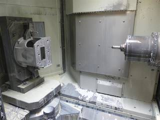Marógép Mori Seiki NH 4000 DCG, Gyárt. é.  2015-1