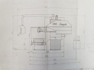 MTE KOMPAKT PLUS Bed marógép-12