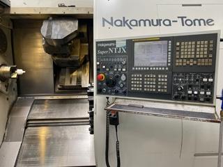 Esztergagép Nakamura Super NTJX-1