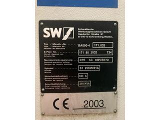 Marógép SW BA 600 - 4-1