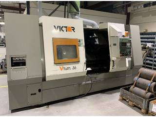 Esztergagép Victor V-Turn 36/125 CV-0