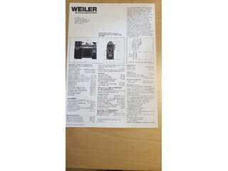 Esztergagép Weiler Matador W2-1