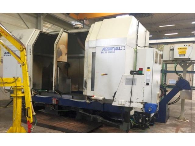 További képek Marógép Alzmetall BAZ 35 CNC LB, Gyárt. é.  2000