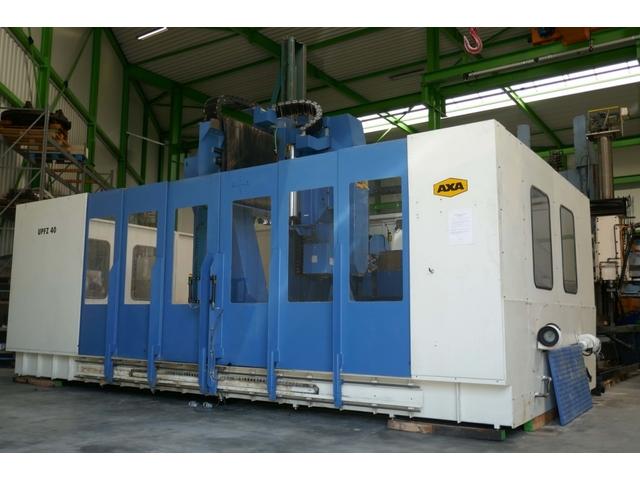 További képek Axa UPFZ 40 portál marógép