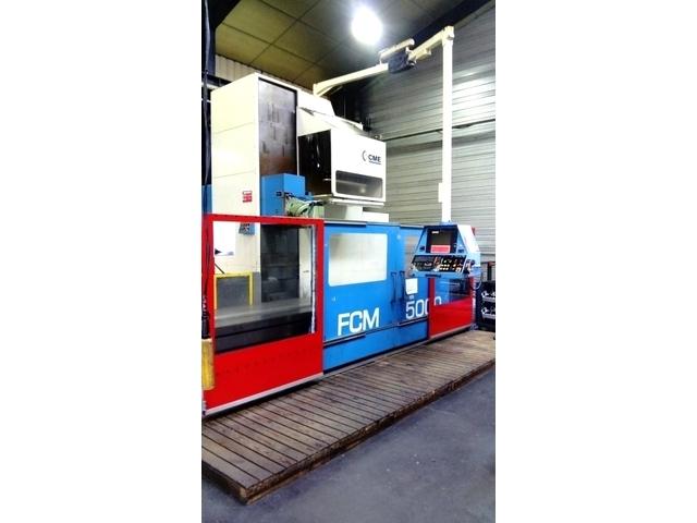 További képek CME FCM - 5000 x 950 Bed marógép