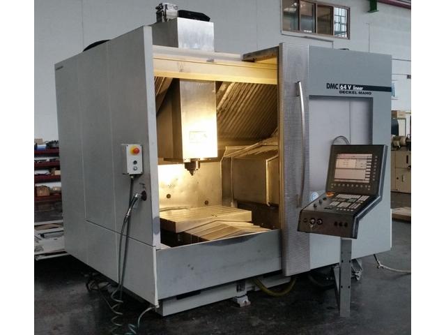 További képek Marógép DMG DMC 64 V linear 3ax, Gyárt. é.  2004
