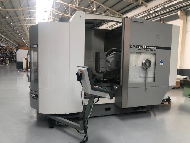 További képek Marógép DMG DMC 80 FD doublock, Gyárt. é.  2005