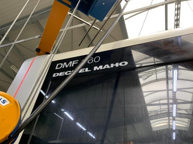 További képek Marógép DMG DMF 360, Gyárt. é.  2011