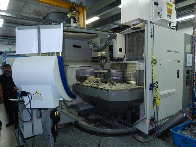 További képek Marógép DMG DMU 100 T, Gyárt. é.  2000