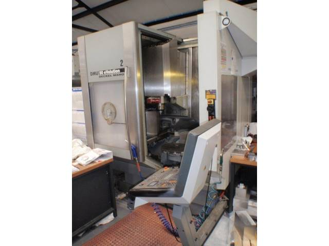 További képek Marógép DMG DMU 50 evo, Gyárt. é.  2002