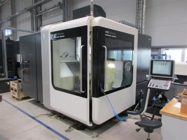További képek Marógép DMG HSC 75 linear, Gyárt. é.  2009